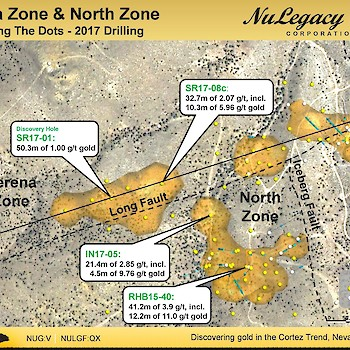 Serena & North zone: 2017 Drilling