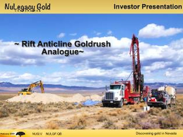 Rift Anticline Goldrush Analogue